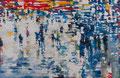 Verzerrung von Tatsachen, 190x290 cm, 2016, Öl auf Leinwand