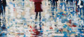 We´ll follow her, 90x200 cm, 2013, Öl auf Leinwand