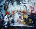 Guck mal,120x150 cm, 2008, Öl auf Leinwand