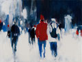 ...as I was walking through the city..., 30x40 cm, 2013, Öl auf Leinwand