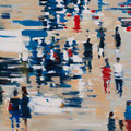 La plaza 02, 60x60 cm, 2016/2017, Öl auf Leinwand
