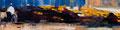 Teia, 30x120 cm, 2013, Öl auf Leinwand