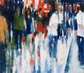 Nach dem Konzert, 140x150 cm, 2013, Öl auf Leinwand
