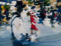 J.B. was here, 30x40 cm, 2015, Öl auf Leinwand
