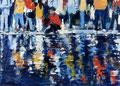Sea of tears,180x250 cm, 2012, Öl auf Leinwand