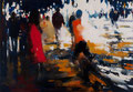The night is not over yet, 140x200 cm, 2015, Öl auf Leinwand
