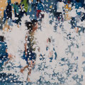 The Flow, 60x60 cm, 2017, Öl auf Leinwand