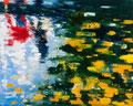 Anfang vom Ende, 120x150 cm, 2016, Öl auf Leinwand