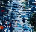 Livin´in chaos, 140x160 cm, 2014, Öl auf Leinwand