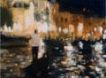 Veneziamore_01, 30x40 cm, 2015, Öl auf Leinwand