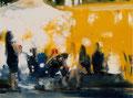 Die Nachteulen_30x40 cm, 2015, Öl auf Leinwand