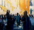 Everybody will see it and nobody will wonder, 150x170 cm, 2016, Öl auf Leinwand