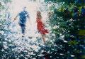 A magic day, 140x200 cm, 2015, Öl auf Leinwand