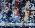 Liegt in der Luft, 140x160 cm, 2008, Öl auf Leinwand