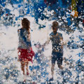 Hooked on art, 60x60 cm, 2016/2017, Öl auf Leinwand