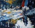 Rue de Redsell,120x150 cm, 2011, Öl auf Leinwand
