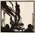 """13 Walter Draesner, Titel """"Tod im Feuer"""" 1922"""