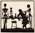 """20 Walter Draesner, """"Der Tod und der Anatom"""""""
