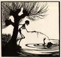 """10 Walter Draesner, """"Tod im Wasser"""""""
