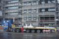 Der Ballast von 50 Tonnen (3 x 14 Tonnen + Grundplatte 8 Tonnen) wurde von Ács Gép abtransportiert
