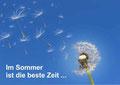 Sommer Pusteblume
