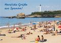 Sommer Urlaubsbild Mittelmeer