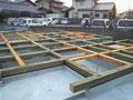 防腐処理した土台の木材
