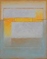 Orange Teilung (80x100 cm)
