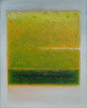 Grün über Orange (40x50 cm)