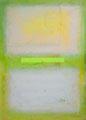 Helle Felder auf Grün (100x140 cm)