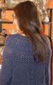 Saco azul dos agujas