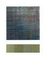 "Graph IV. Acrylic, inkjet, Mulberry paper, cardboard. 11"" x 14"". 2014"