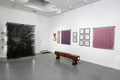 """The Atomic Series"" (installation overview/ ""One: Variations on True Lovers Knot""). Sculpture, prints, drawings, mixed media. Dimensions variable. 2009 - 2014"