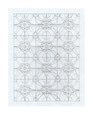 """""""Nuclear Forms #1"""" (1 of 16 drawings). Graphite on graph paper. 11"""" x 8.5"""". 2010"""