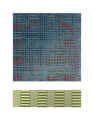 "Graph V. Acrylic, inkjet, Mulberry paper, cardboard. 11"" x 14"". 2014"
