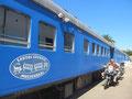 Drei Nächte im Zug an der Mossel Bay