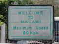 Wir sind in Malawi angekommen...