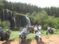 Bikermeeting beim Wasserfall