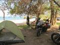 Camping am Lake Malawi...