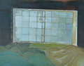 うたた前 91×116.7㎝ 油絵の具・木製パネルに紙