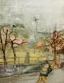 広い昼  116.7×91.0㎝ 油彩・キャンバス