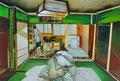 頑然たる漠然  130.3×194.0㎝ 油彩・キャンバス