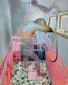 粒子浴  162.0×130.0㎝ 油彩・キャンバス