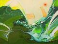 洒落臭い波  130.3×162.1㎝ 油絵の具・キャンバス