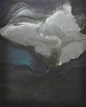 脅威のしじま 162.0×130.5cm アクリル絵の具・キャンバス