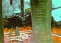 英知の淵   72.8×103.0㎝ アクリル絵の具・パネルに綿布