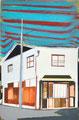 ぶっきらぼうジョイント 30×20㎝ 油絵の具・木製パネルに紙