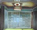 反射の時刻 130×162㎝ 油絵の具・木製パネルに紙