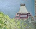 時代の眺望 56×70㎝ 油絵の具・木製パネルに紙