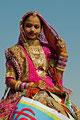 Wûstenfestival in Jaisalmer